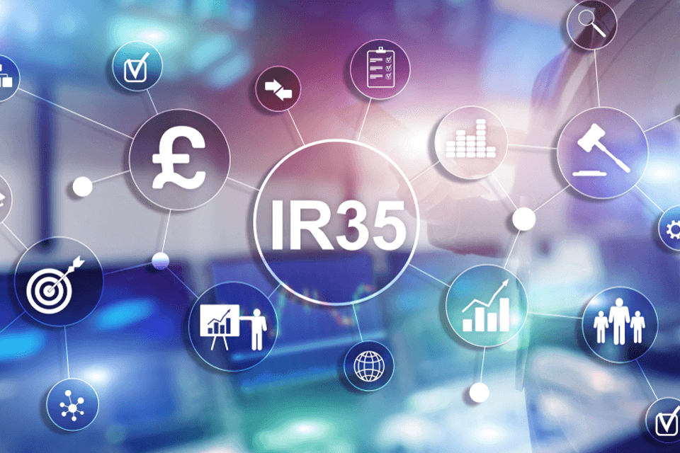 Graphic representing IR35 changes